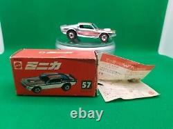 Hot Wheels Redlines Chrome Mustang Stocker, Japan Box, Minty Car
