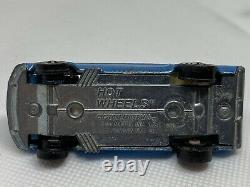 Hot Wheels Redlines Rare Blue US Custom Mustang With Louvered Rear Window