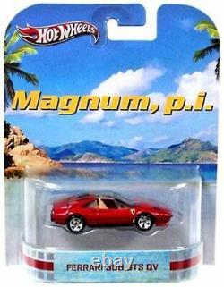 Hot Wheels Retro MAGNUM PI Ferrari 308 GTS QV Mattel 2013