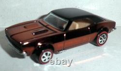 Hot Wheels Rlc 50th Anniversary Original 16 Display Custom Camaro 1 Of 1500