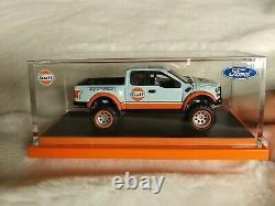 Hot Wheels Rlc Exclusive Gulf'17 Ford Raptor #4413/10,000