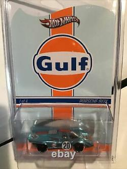 Hot Wheels Rlc Gulf Racing Series Complete Set Of 8 Absolutely Stunning & Vvhtf