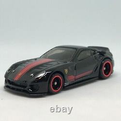 Hot Wheels STH Ferrari 599xx Racer Super Treasure Hunt LOOSE RARE VHTF Black