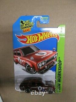 Hot Wheels Super Treasure Hunt 1971 Datsun Bluebird 510 Wagon