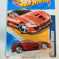 Hot Wheels Super Treasure Hunt Ferrari 599xx Mint Card