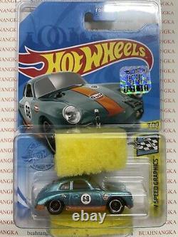 Hot Wheels Super Treasure Hunt PORSCHE 356 OUTLAW GULF STH FS 2021 US Card