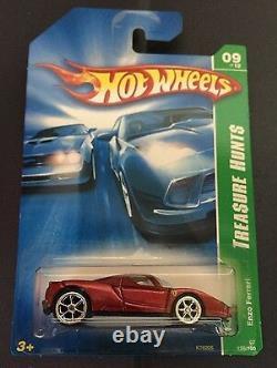 Hot Wheels Super Treasure T Hunt Enzo Ferrari Rubber Tires 2007 Rare Red Seats