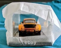 Hot Wheels TOY FAIR 2016 Gold Porsche 934 Turbo RSR (ORIGINAL TISSUE STILL ON)