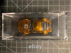 Hot Wheels TOY FAIR 2016 Gold Porsche 934 Turbo RSR in original plexiglass case