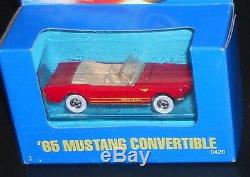 Hot Wheels Treasure Hunt (1) Rare 1991'65 Mustang Convertible 0420 (momc/ Box)