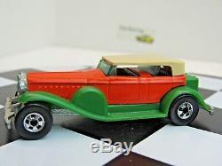 Hot Wheels Vhtf 1981 # 9649 Series 31 Doozie Very Rare Green Fenders