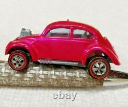 Hot Wheels Vintage Original Redline 1967 Custom Volkswagen U. S. Hot Pink Nm