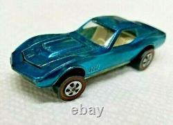 Hot Wheels Vintage Original Redline Custom Corvette Unrestored All Original