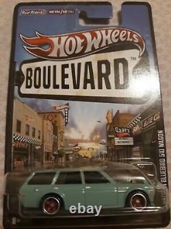 Hot Wheels boulevard 71 Datsun Bluebird 510 Wagon