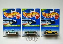 Hot wheels 1995 Treasure Hunt Set with 67 Camaro and VW bug full set of 12 MONMC