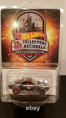 Hot wheels 2017 Collectors Nationals Convention Heavy Chevy Chrome 333/1300