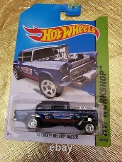Hot wheels 55 chevy bel air gasser Super Treasure Hunt