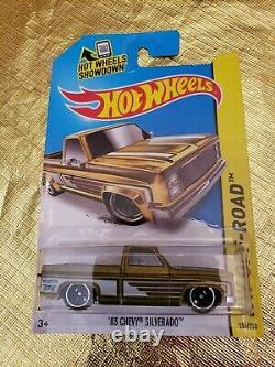 Hot wheels 83 chevy silverado super treasure hunt