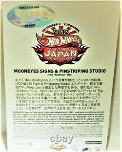 Hot wheels Red Line Club 2012 JAPAN Convention Mooneyes VW Drag Bus FREE SHIPING