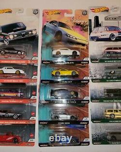 Hot wheels car culture lot