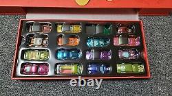 Hot wheels original 16 display set NIB with cars 1456/1500