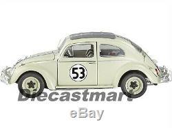 Hotwheels Elite 118 Disney The Love Bug 1953 Herbie Vw Beetle Bcj94 Diecast