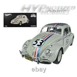 Hotwheels Elite 118 Herbie The Love Bug Volkswagen Beetle Bcj94