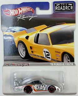 Hotwheels Racing 2012 Road Racers Roadrcr Real Riders 1978 Porsche 935/78 #35