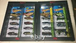 MIMB Hot Wheels 2014 RLC 15 Car Super Treasure Hunt Set 0447/1000 WITH SHIPPER