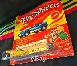 NHRA DON Snake PRUDHOMME 164 Diecast Hot Wheels REDLINE Dragster CIB 1972 RARE