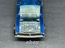 Original Hot Wheels Redlines Blue Custom Dodge Charger