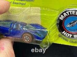Original Hot Wheels Redlines HK Porsche 917 Blue Blister Pack RARE Canadian Card