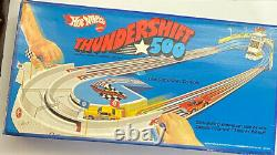 RARE NEW UNopened 1974 Hot Wheels Red Line Thundershift 500 Race Set