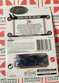 RLC Hot Wheels Nissan Skyline GT-R (BNR34) Blue ERROR NIP 164 Scale