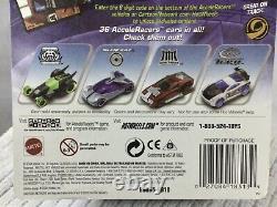 Rare HTF Hot Wheels Acceleracers Teku Reverb 1/64 Diecast Car (1 Of 9)
