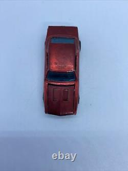 Rare Hot Wheels 1967 Redline US Custom Camaro Red With brown Interior