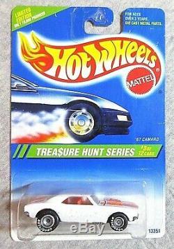 Rare Noc 1/64 Diecast Hot Wheels 13351 67' Camaro 1995 Treasure Hunt Super Moc