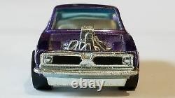 Redline Hot Wheels 1969 King Kuda Purple White Interior C9+ Very Rare! L@@k