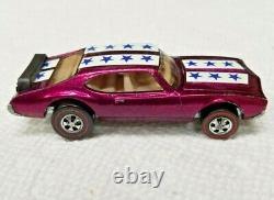 Redline Hot Wheels 1969 Olds 442 Vintage Original Awesome & Near Minty
