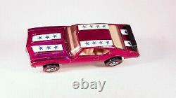 Redline Magenta Olds 442 Keeper 100% All Original Small Stars Check It Out