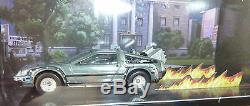 Sdcc 2011 Exclusive Mattel Hot Wheels Back To The Future Delorean Diorama Case