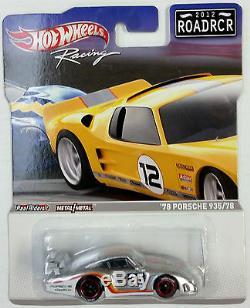 Sealed F Case Hot Wheels 2012 Road Racer Roadrcr Bmw Camaro Corvette Porsche