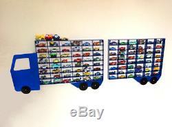 Toy Car Storage Shelf Display Hot Wheels Disney Diecast Cars Truck Large Cabinet