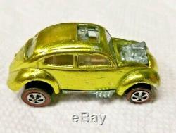 Vintage 1967 Hot Wheels Redline Custom Volkswagen U. S. Base All Original