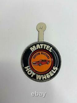 Vintage Hot Wheels Redline 1967 Custom Mustang Hong Kong Original Rare Gold Ohs