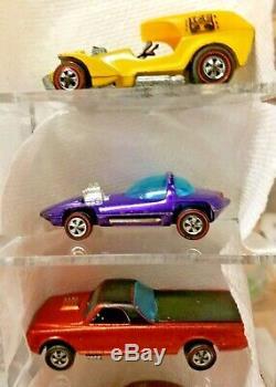 Vintage Original Hot Wheels Redline 30 Car Estate Find Near Mint Condition/clean