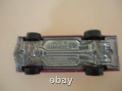 Vintage Original Hot Wheels Redline Olds 442 Magenta