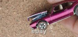 Vintage Original Hot Wheels Redline Olds 442 Magenta (FACTORY ERROR)